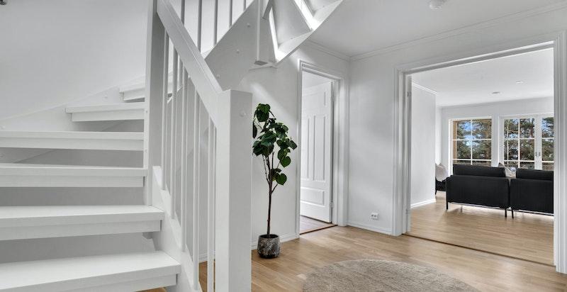Bildene er tatt av en annen bolig i prosjektet og er ment for å vise standarden som leveres. Avvik kan forekomme.