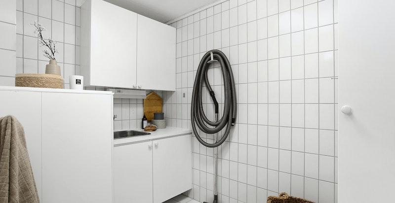 Vaskerom i tilknytning til badet
