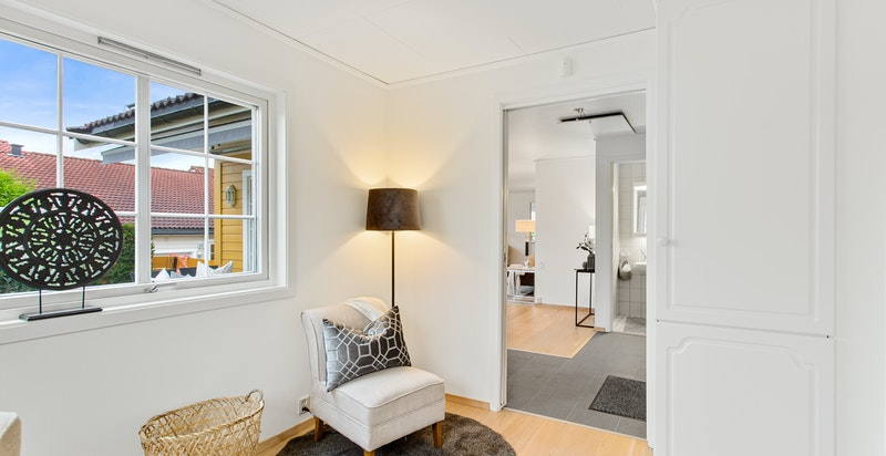 Soverom 3 kan også benyttes som kontor eller tv-stue