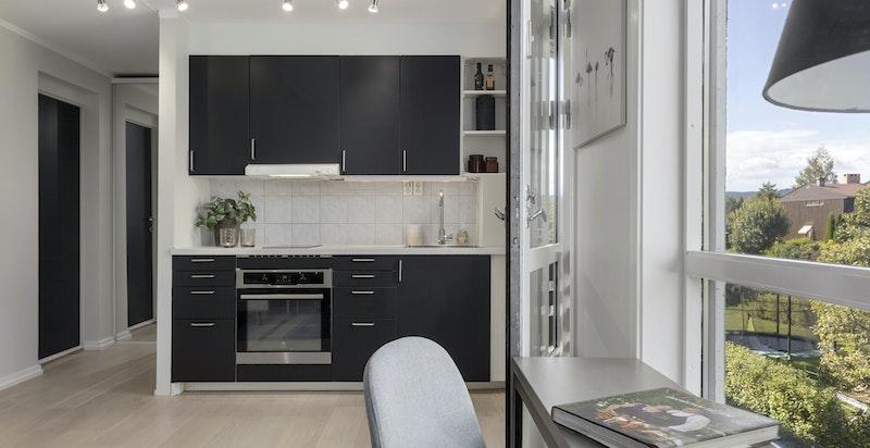 Kjøkkenet er fra 2016