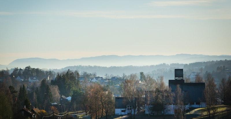 Utsikt mot Holmen kirke