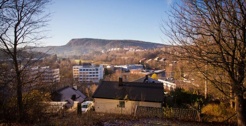 Utsikt mot Kolsåstoppen
