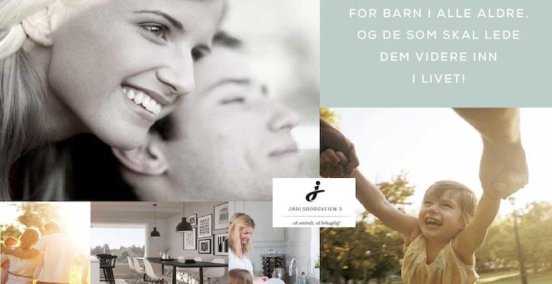 I Jarlsborgveien 3 får man et flott utgangspunkt for både å etablere og dyrke familien.
