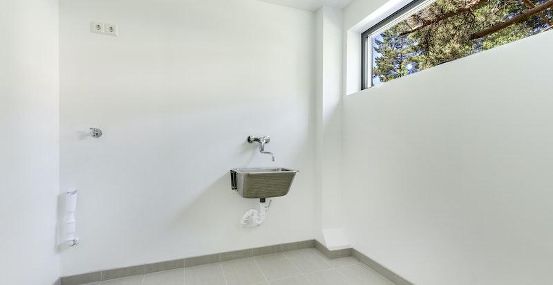 Disponibelt rom med vaskemulighet.