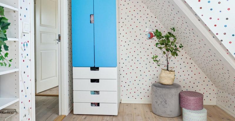 Dette gir god mulighet for å ha to senger på rommet - perfekt dersom familien har to barn som gjerne vil dele rom.