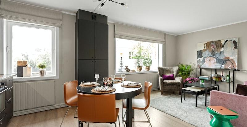 Velkommen til Majorstuveien 5 - en lekker, tiltalende og nyoppusset bolig med fantastisk beliggenhet på Majorstuen.