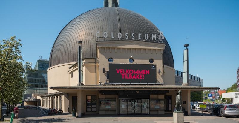 Colosseum kino like i nærheten