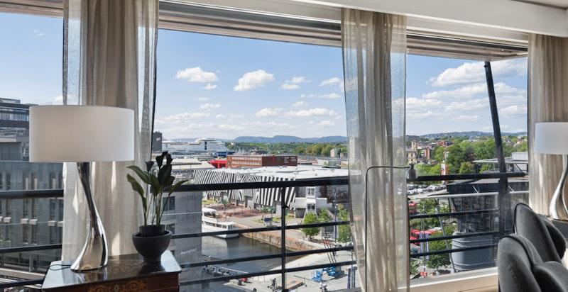 Utsiktsbilde fra stuen
