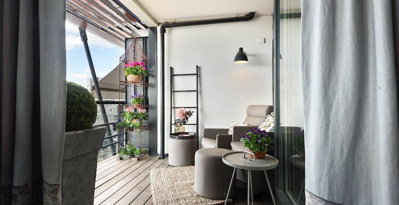 Balkong/terrasse