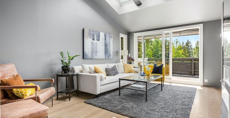 Her er det god plass til sofamøblement