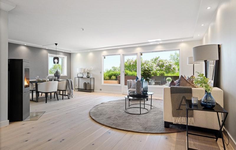 Påkostet og eksklusiv selveier leilighet