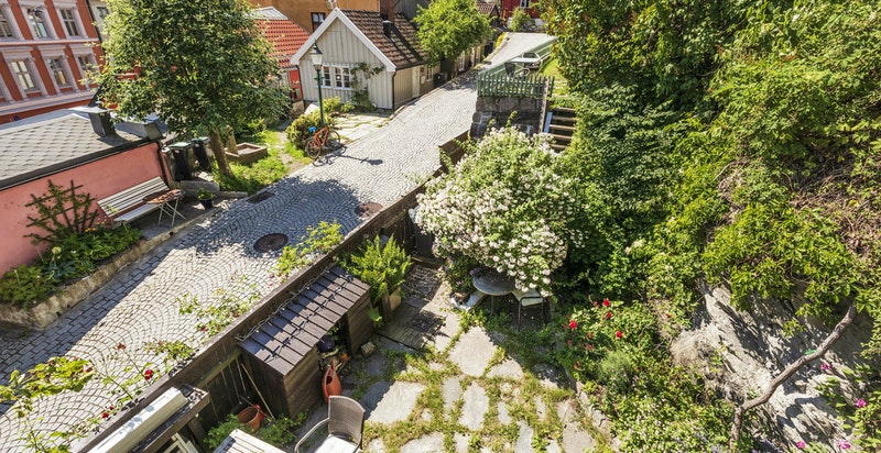 Her får du fantastisk hageidyll midt i byen