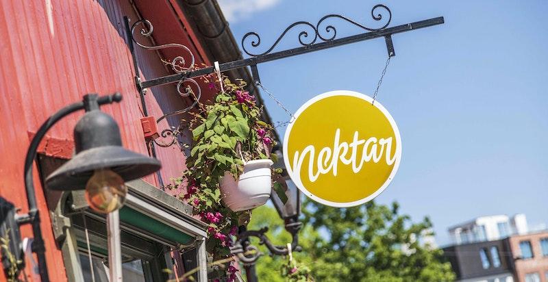 Populære Nektar vinbar - Mathallen/Vulkan og Akerselven ligger 5 minuttters gange fra leiligheten