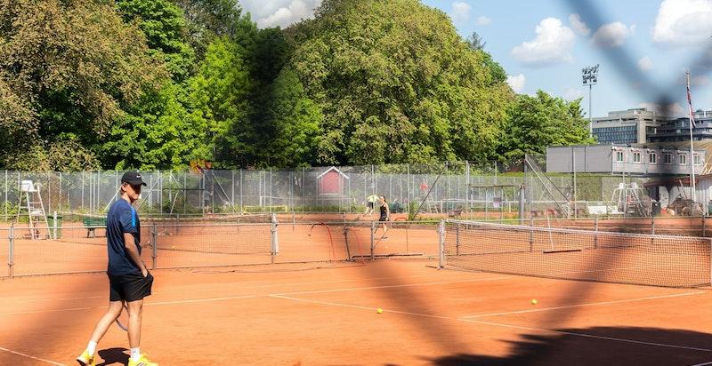 Frogner tennis ligger i umiddelbar nærhet og er Norges største utendørsanlegg for tennis, og drives av Oslo tennisarena.