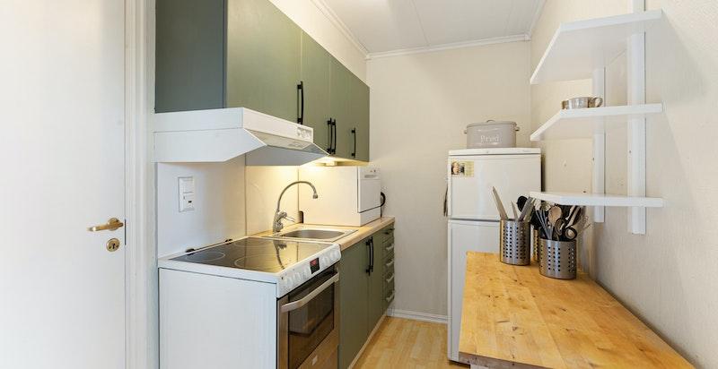 Kjøkkenkrok i hybel