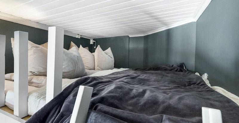 Hyggelig sengeplass på hems