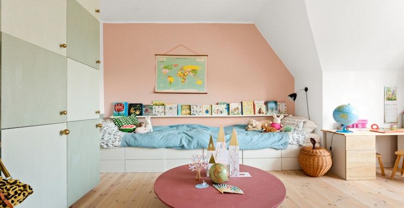 Barnerom - et rom som blant annet passer perfekt dersom to barn ønsker å dele rom.
