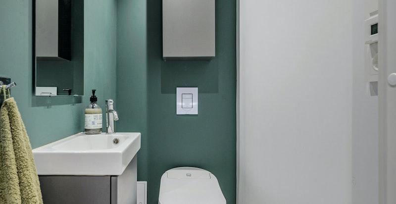 WC med Grohe dusjtoalett