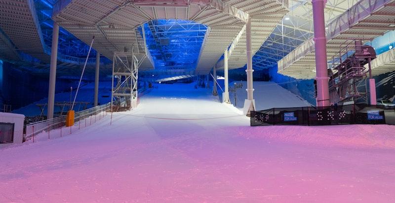 I 2020 åpnet SNØ- verdens råeste helårsarena for snøopplevelser på Lørenskog.