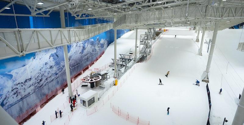 Med en størrelse på 40 000 kvadratmeter skapes det en arena med perfekte forhold for langrenn, alpint og freeski.
