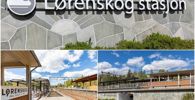 Gode togmuligheter fra Tribunen. Lørenskog stasjon ligger i nærheten og tar deg raskt og effektivt inn til Oslo eller i motsatt retning.
