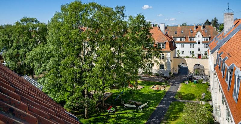 Velkommen til Linderngata 2 i Lindern Hageby.