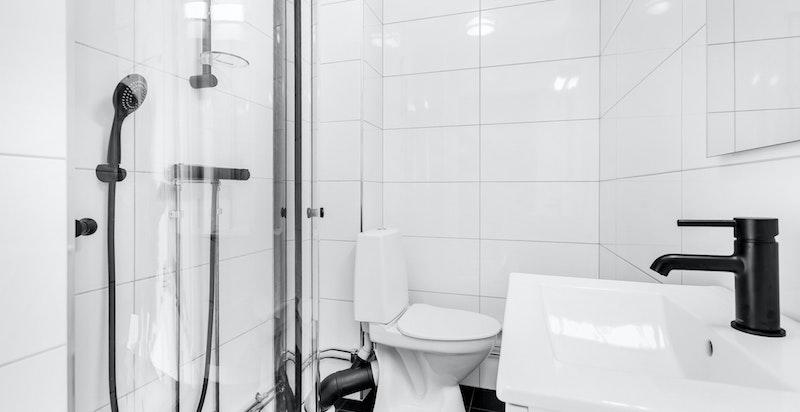 Elektriske varmekabler i gulvet på badet