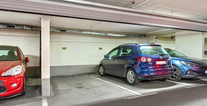 Garasjeplass - Mulighet for å etablere el-bil-lader