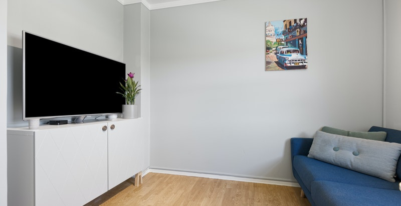 Soverom 4. Kan benyttes som TV-stue eller kontor