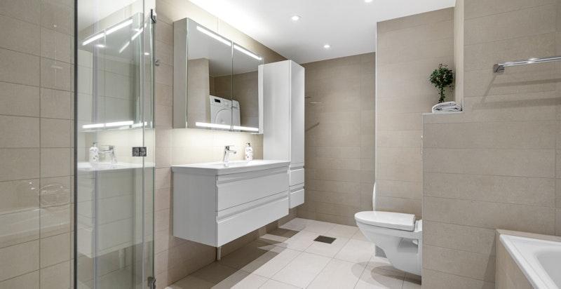 Bad og toalettrom ble oppgradert i 2014