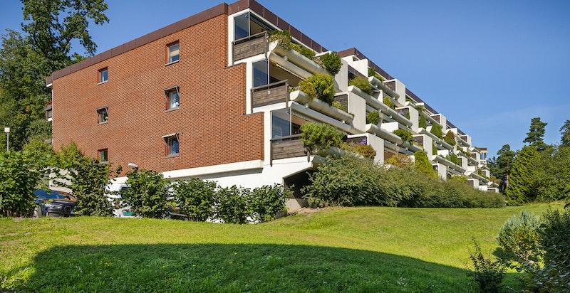 Byggets fasade