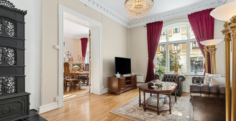 Velkommen til Behrens' gate 5 - Flott leilighet i et attraktivt og rolig område.
