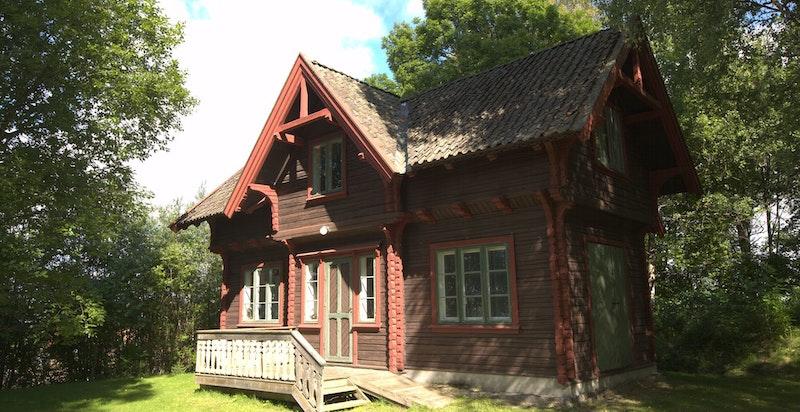 Arneberg stasjons ilgodsbygning