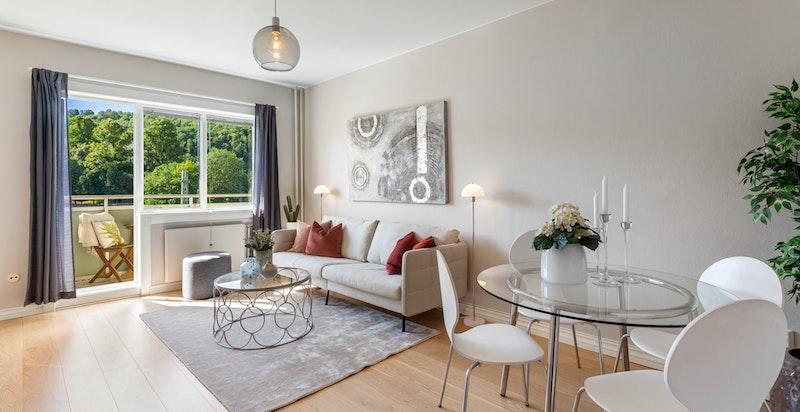 Velkommen til St. Halvards gate 25 B - En tiltalende 3-roms med kort gangavstand til bla. Bjørvika, Barcode og sentrum
