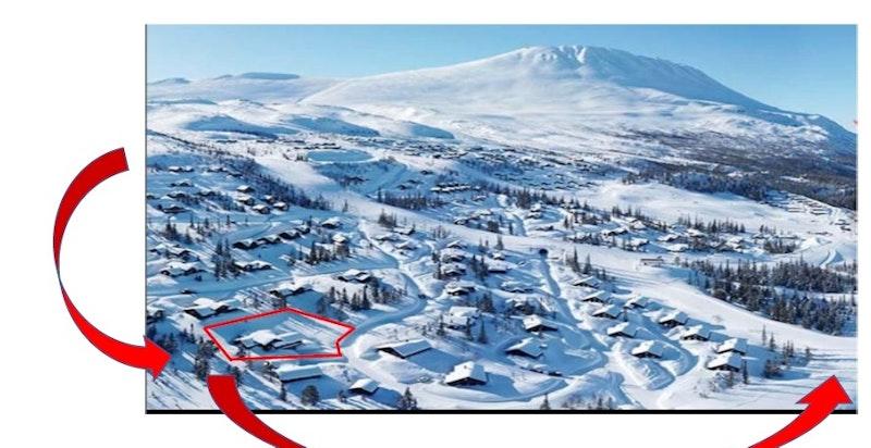 Ski in / ski out fra Hestegrøavegen 3