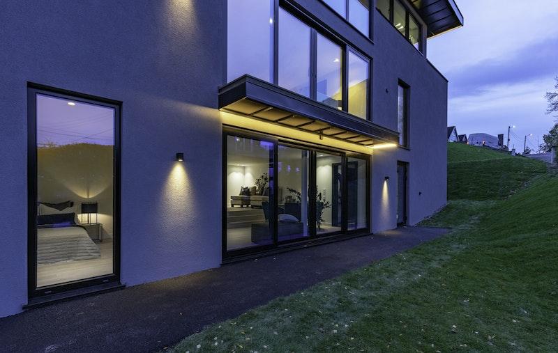 Fasade/inngangsparti