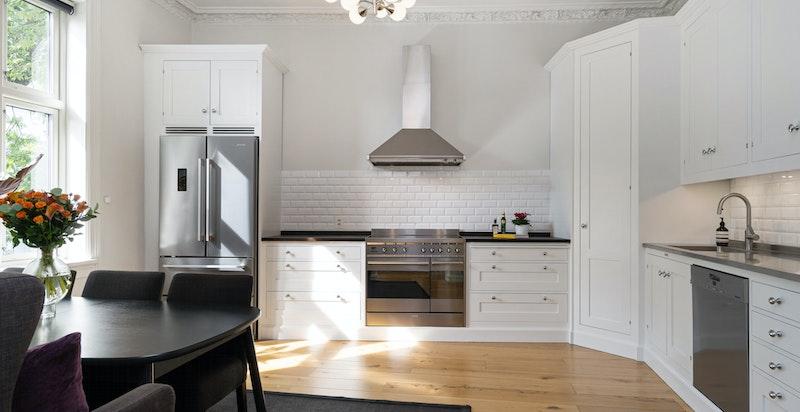 Lekkert kjøkken med Lidhults kjøkkeninnredning fra 2015