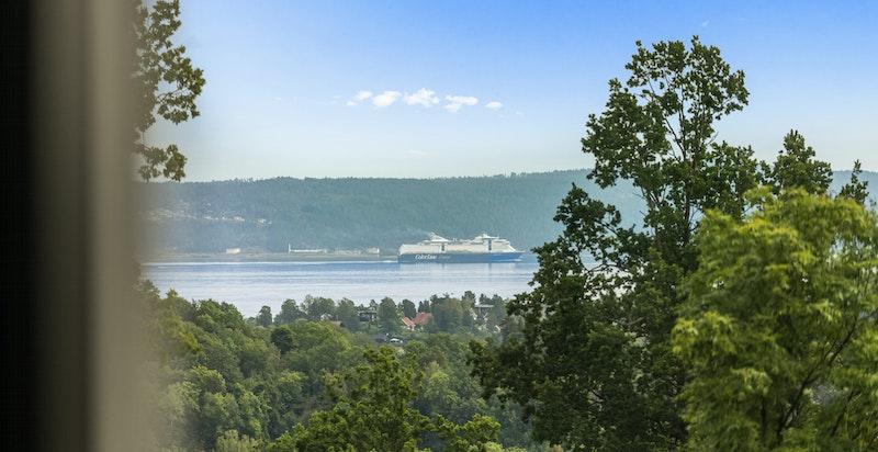 Utsikt til Oslofjorden