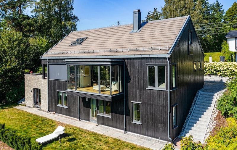 Thomas Jensens vei 36 - Arkitekttegnet enebolig - nominert til byggeskikkspris