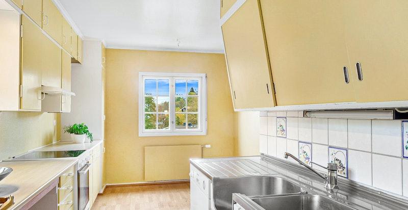 Detaljbilde fra kjøkkenet