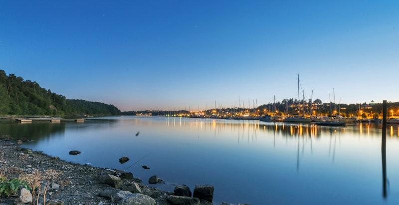 Skøyen har en unik kombinasjon med nærhet til sjøen, grønne lunger og fine turstier.