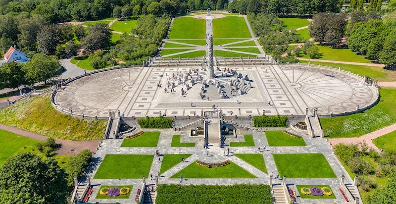 Gangavstand til Frognerparken og skulpturanlegget Vigelandsparken.