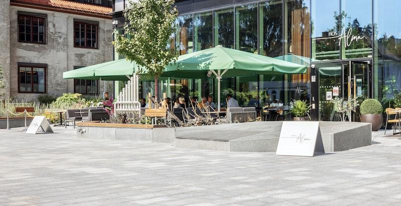 Harbitz Torg åpnet våren 2020 med et variert utvalg av butikker, restauranter, servicetjenester.