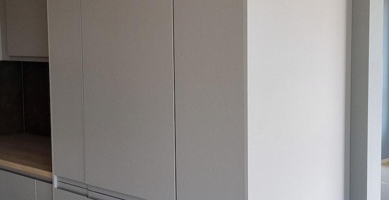 Bilde av den konkrete leiligheten.