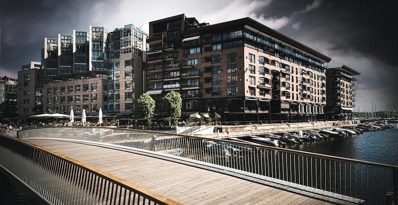 Spaseravstand til sentrum, Aker Brygge og fjordbyen