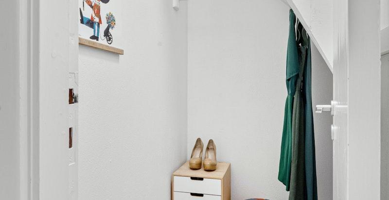 Kott/garderobe/kontor i 2.etg.