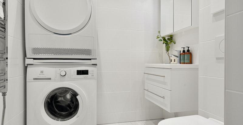 Separat toalett/vaskerom