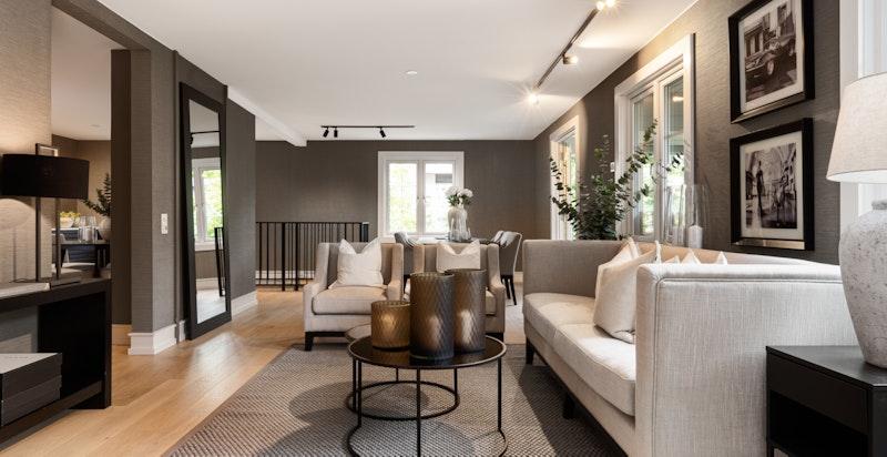Ved oppgraderingen ble Concept Estate engasjert for å bistå med valg av materieler.