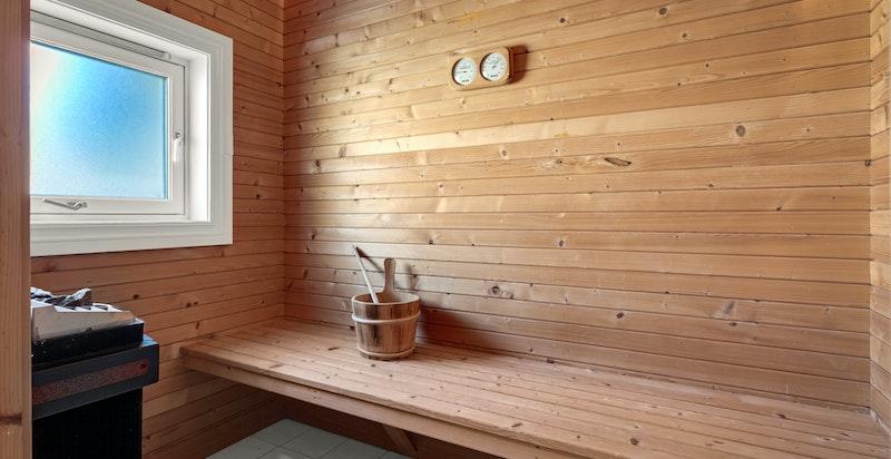 Badstue tilknyttet bad 2.