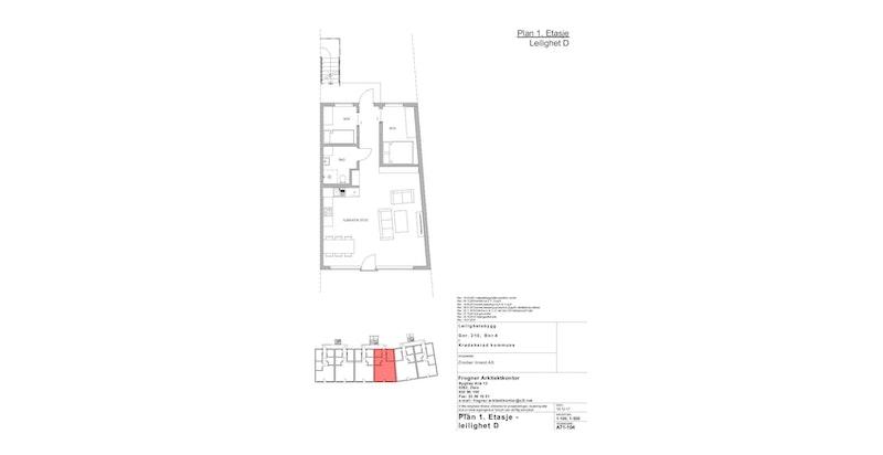 Leilighet D | 1 ETG | 67 KVM | PRIS 3 200 000